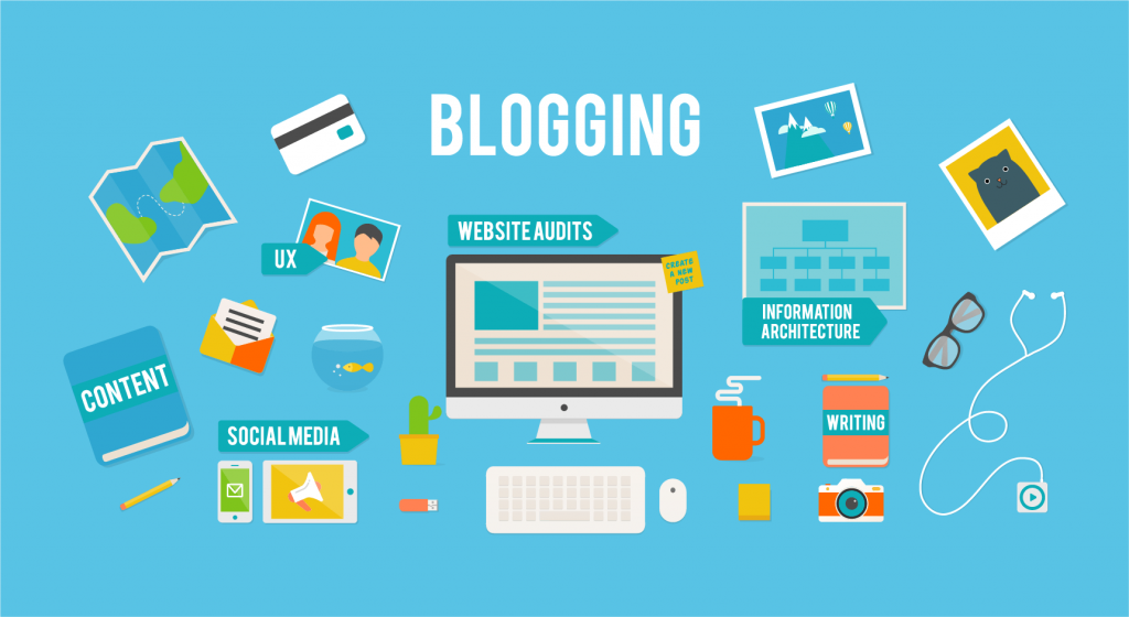 how do you blog